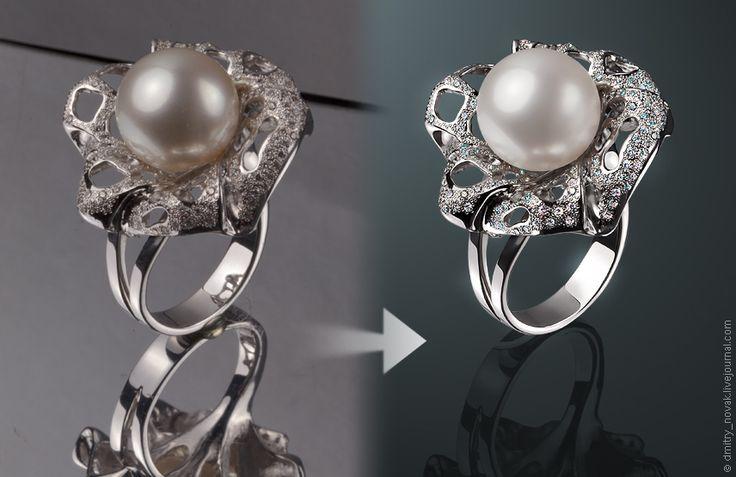 Hi-End обработка фото ювелирных украшений и других мелких изделий