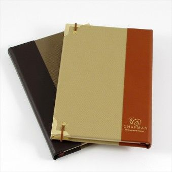 LEATHER BOUND JOURNAL from Chapman Bags