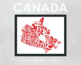 For my Canadian-inspired room...