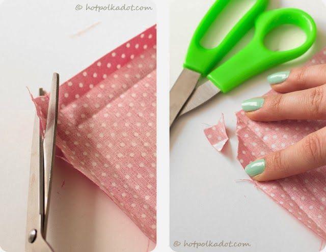 Clubinho da Costura: Guardanapo de tecido com cantos perfeitos