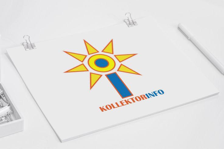 Kollektorinfó logó tervezés.