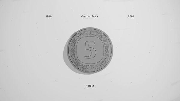 Münzen vor Einführung des Euros