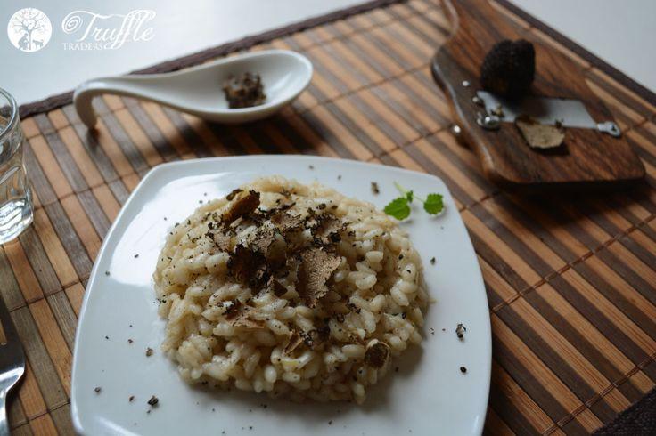 Black Truffle Risotto Recipe - Truffle Traders
