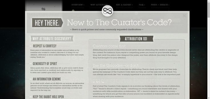 http://www.curatorscode.org/