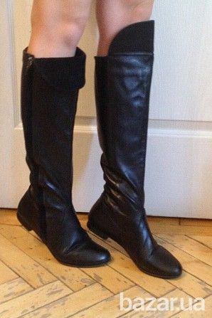 оригинальные, кожаные сапоги весна-очень фирмы Miss Sixty. одеты пару раз, состояние отличное
