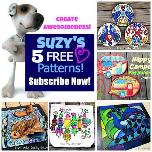 Suzy's Artsy Craftsy Sitcom – Crafts, Tutorials, Patterns & Fun!