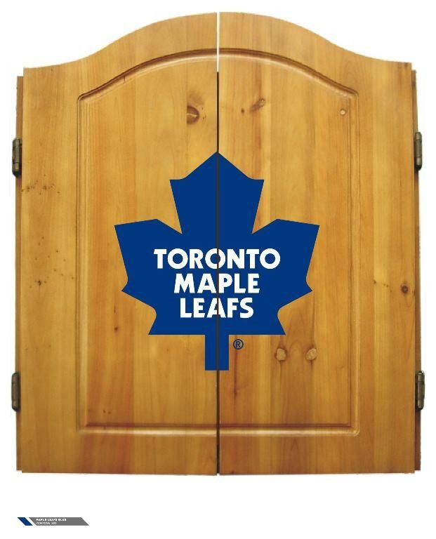 Toronto Maple Leafs Complete Dart Cabinet
