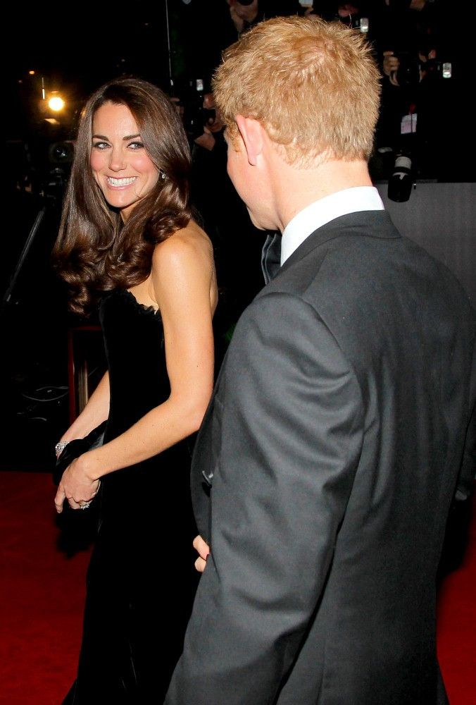 Prince William, Duke of Cambridge, Catherine, Duchess of Cambridge and Prince Harry attend The Sun Military Awards at Imperial War Museum on December 19, 2011 in London, England.