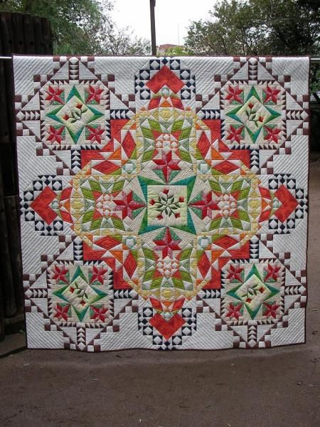 Flower FountainQuilt Inspiration, Amazing Quilt, Quilt Places, Beautiful Quilts, Quilt Ideas, Happy Day, Quilt Festivals, Flower Fountain, Crosses Stitches