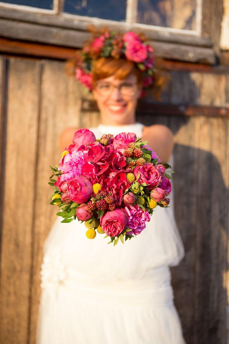 bouquet mariée, mariage, wedding, bride, flowers, fleurs, photpgrahe annelise photo, pink rose