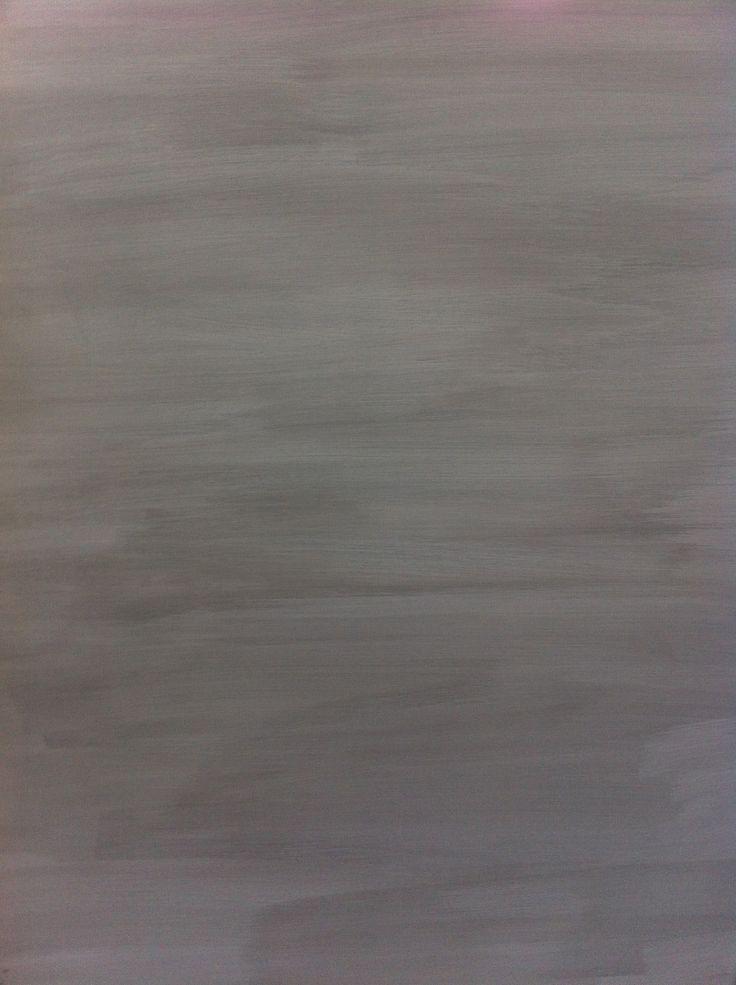 Kalklitir Winter Primo-kallkimaalilla maalattu takan pinta, love it <3