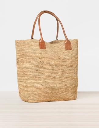 Raffia bag - Beachwear - New Season - Spain