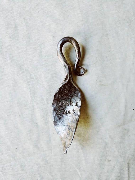 Hand Forged Metal Christmas Ornament