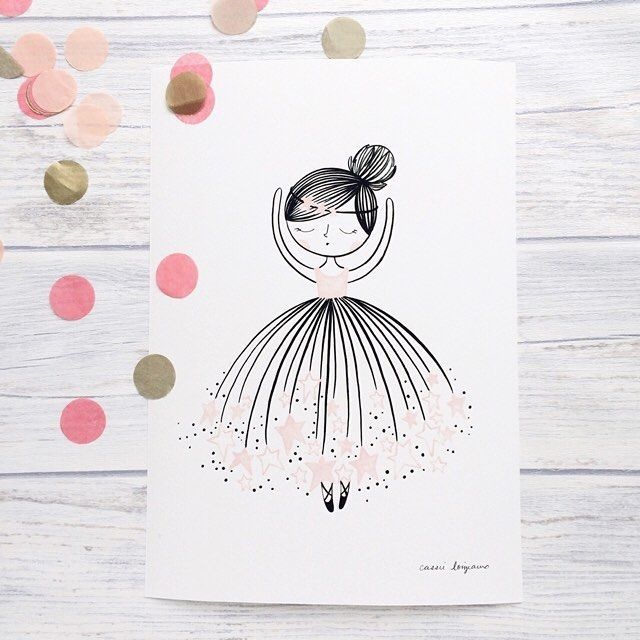 ballerina prints by @cassieloizraux  at littlecloud.kids