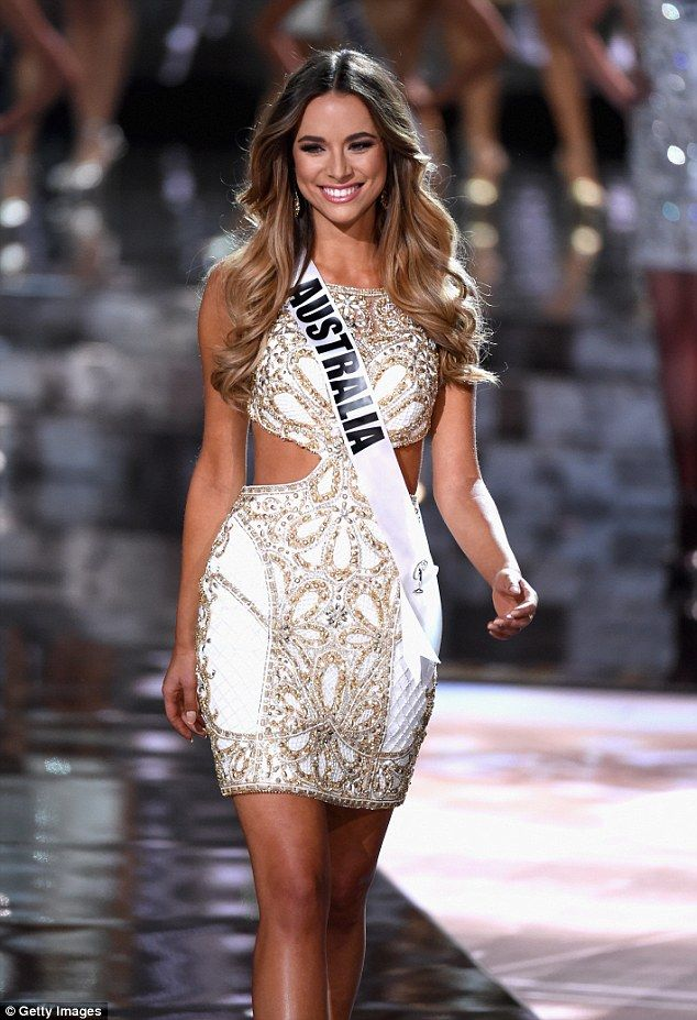 'It was like a movie': Miss Australia Monika Radulovic, who placed fourth in the Miss Universe competition on Sunday, has since opened up about the experience which saw the wrong winner announced