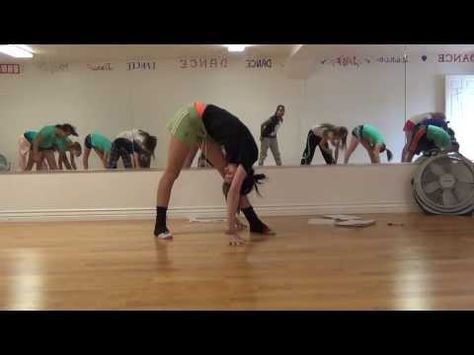 Basic Dance Class Warmup-Stretching and Flexibility - YouTube