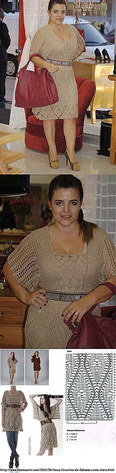 Maria de Maria приколол(а) это к доске Crochet fashion