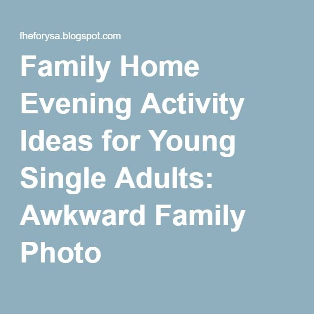Family Home Evening Ideas For Adults Articles of Faith