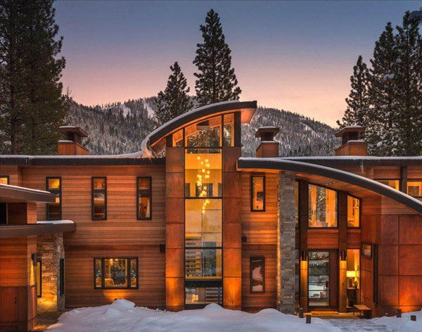 Contemporary retreat near lake tahoe martis camp lake tahoe for Tahoe architects