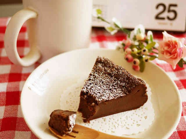 ●しっとり濃厚♥炊飯器でガトーショコラ●の画像
