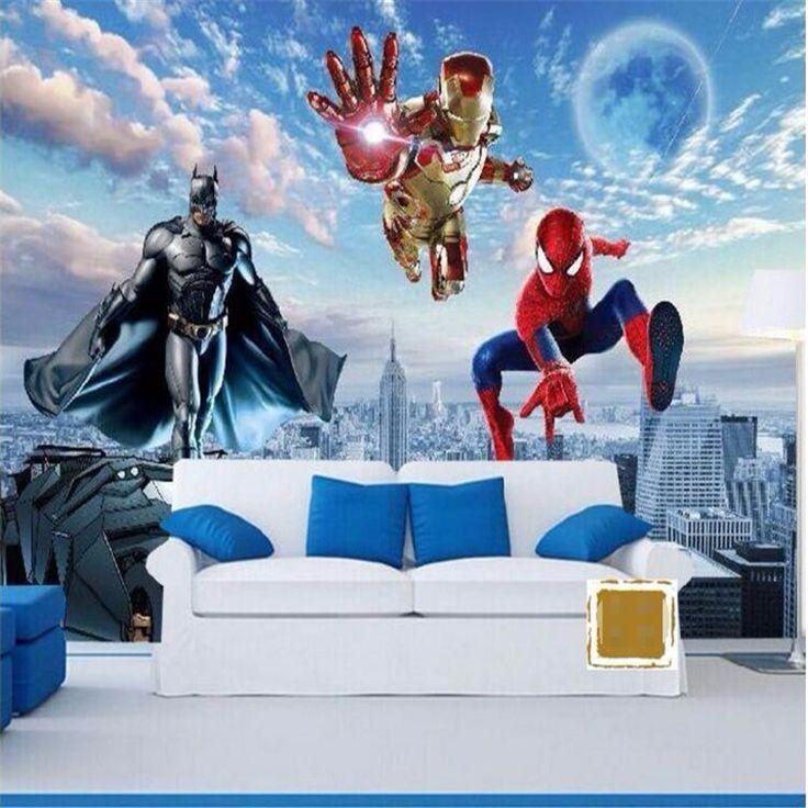 Best Custom Photo Wallpaper 3D Wallpaper Hd Cartoon Kids Room 400 x 300