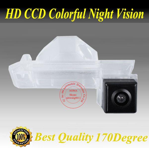 Цветной CCD HD CCD автомобильная камера заднего вида парковки система резервного копирования зритель вспять монитор для MITSUBISHI ASX/RVR Cheetah CS6