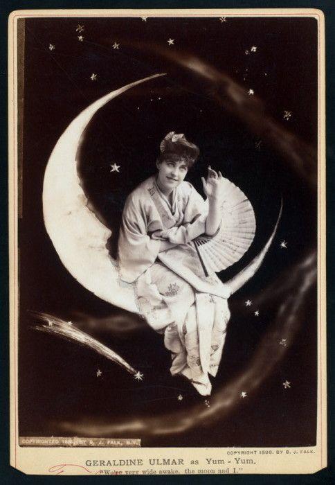 """""""Geraldine Ulmar in Gilbert And Sullivan's """"The Mikado"""" - c. 1885"""""""