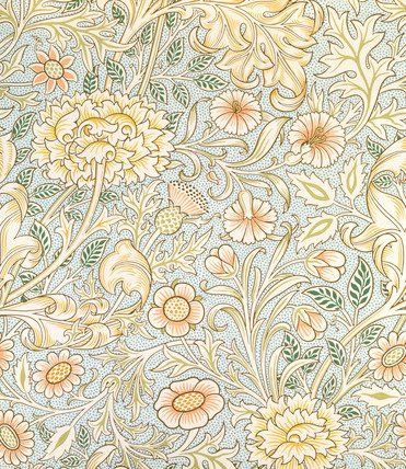 Double Bough wallpaper, by William Morris (V&A Custom Print)