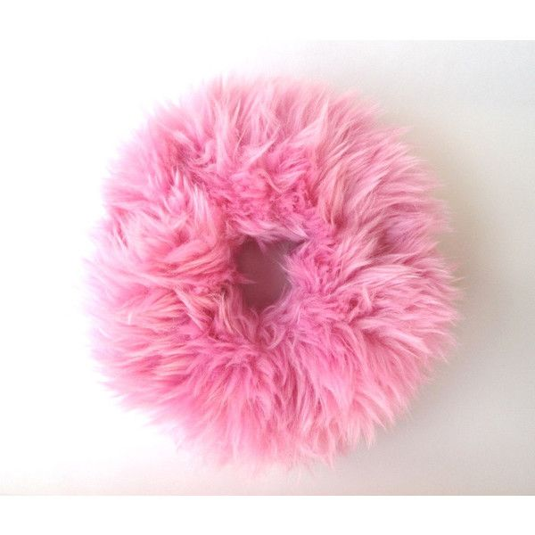 Fuzzy Scrunchie, Pink Scrunchies, Fluffy Scrunchie, Fur Ponytail... ($14) ❤ liked on Polyvore featuring accessories, hair accessories, scrunchie hair accessories, head wrap hair accessories, pink hair accessories, pink headbands and hair band headband