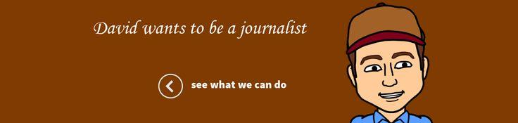 Journalism Persona David