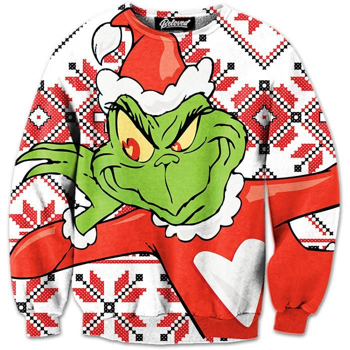 Beloved Shirts presents the Beloved Grinch Sweatshirt