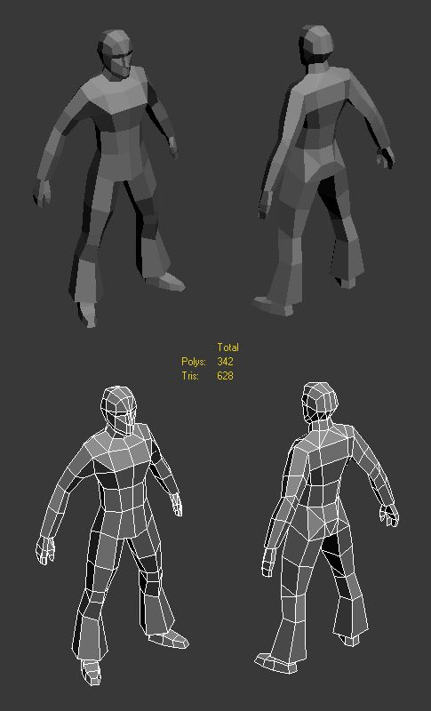 LOWPOLY (sub 1000~ triangle models) - Page 403 - Polycount Forum