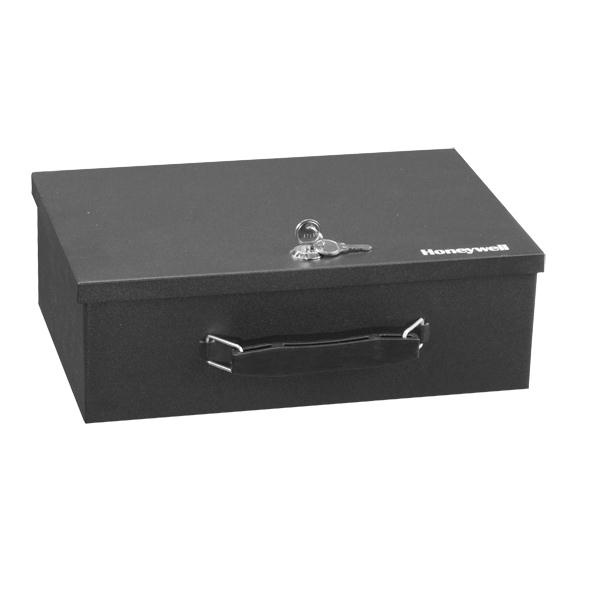 Honeywell Safes 6104| Steel Security Box | Lock Boxes | Fire Resistant Fits well in her locked drawer. It holds her important papers, money and jewelry