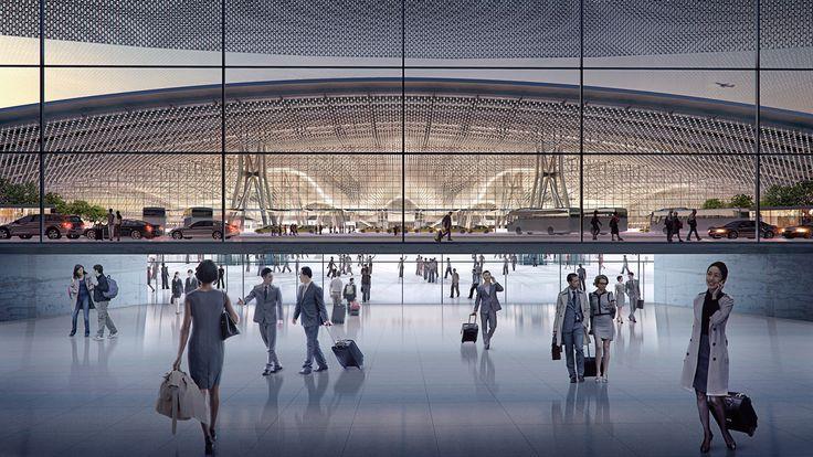 Engineering Taoyuan International Airport Terminal 3 - Arup