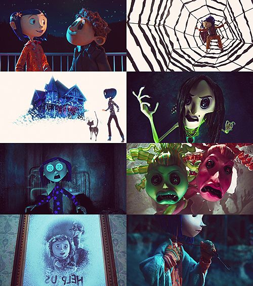 Coraline aka one of the most terrifying movies ever