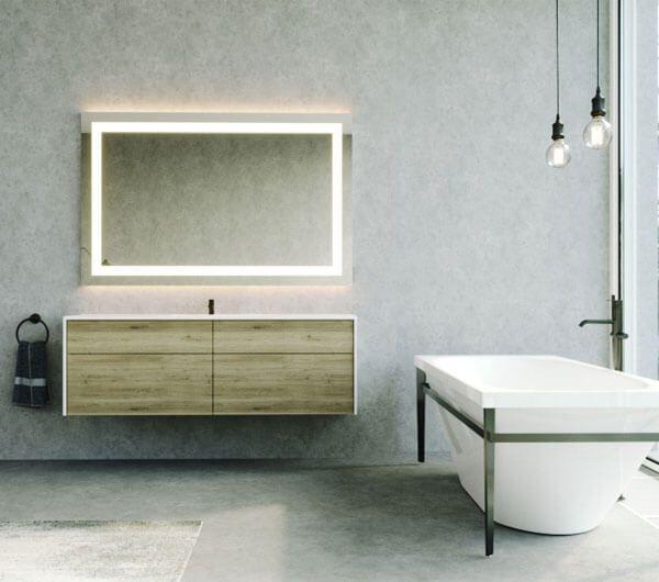 Badspiegel Nach Mass In 2020 Badspiegel Badezimmerspiegel Badezimmerspiegel Beleuchtet