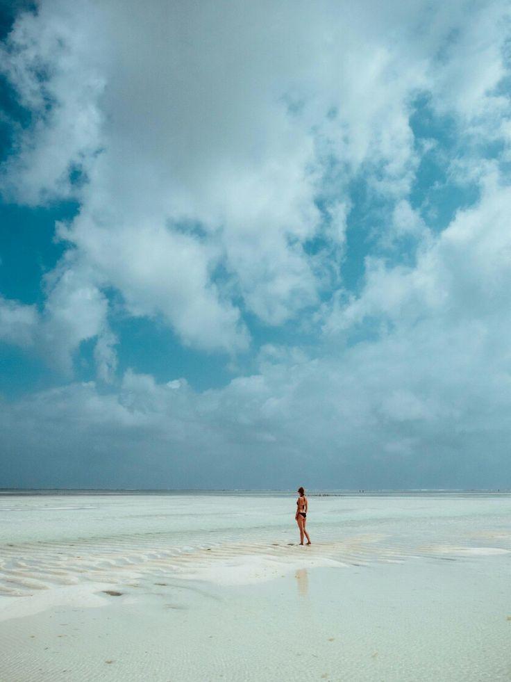 Der Traumstrand Paje liegt im Osten von Sansibar und war eines unserer Highlights auf Zanzibar.