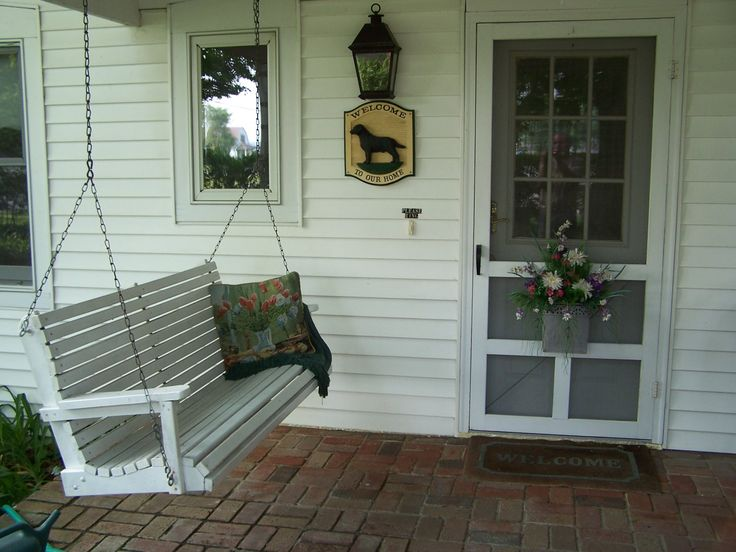 29 best images about fences on pinterest drinking for Old porch swing