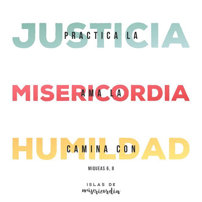 Islas de Misericordia - Miqueas 6 8