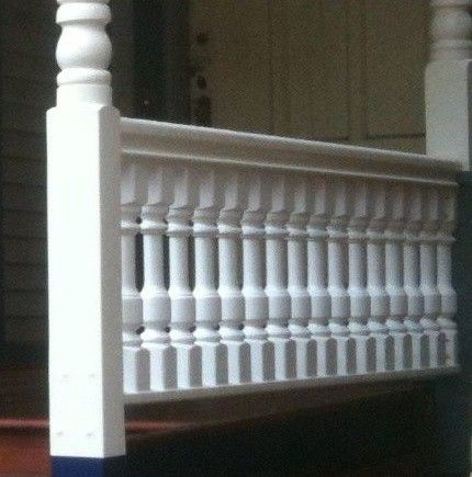 Traditional Cedar Porch Spindles Turned Balusters