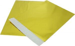 bolsa metalizado dorado para detalle 20x25 cms para envolver regalo invitados #Grandetalles