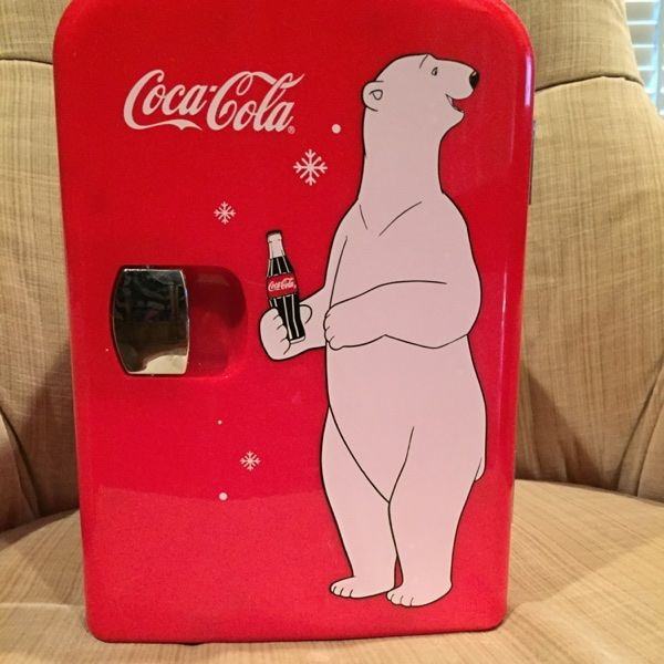 For Sale: Coca Cola Mini Fridge  for $60
