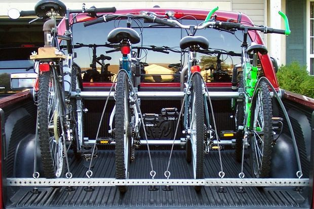 Truck Bed Bike Rack Trucks Pictures Of And Bikes