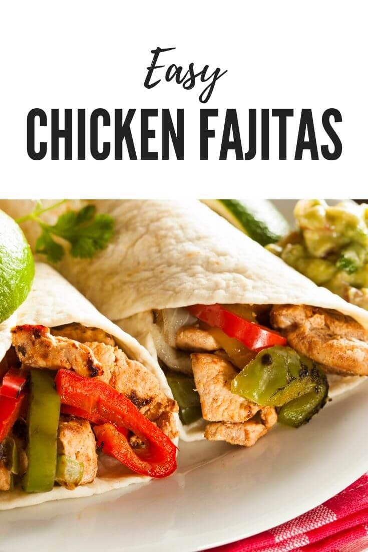 Pin On Chicken Fajita Recipe