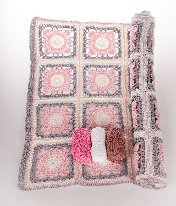 #handwork #virkkaus #crochet #vauvanpeitto #pajupeitto #novitaknits #koukkujapuikko #hookandneedle