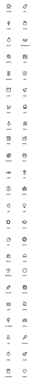 심플 아이콘 디자인소스.AI