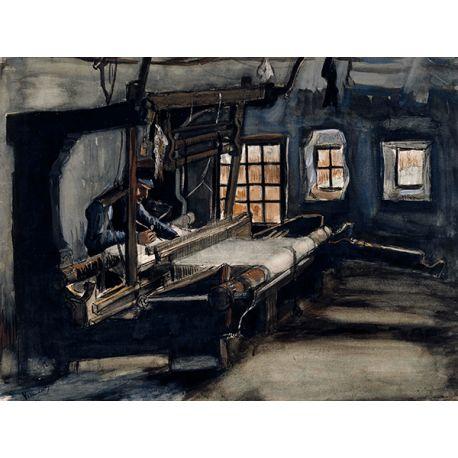 Reprodukcje obrazów Vincent van Gogh Weaver - Fedkolor