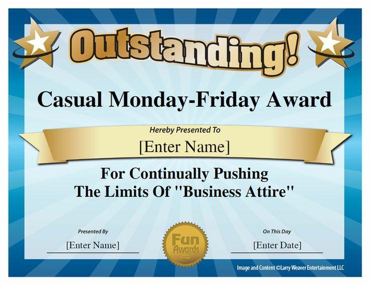 Best Eoy Awards Images On   Employee Awards Funny