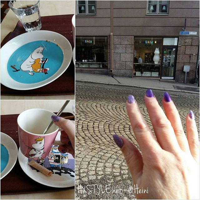 HELSINKI. Kaupungilla KAHVILLA...Viihtyisä, Kiva ja IHANA MUUMI Cafe, KAHVILA, Liisankadulla. Kävin tutustumassa, Kahvilla&Syömässä. Palvely Ystävällistä, Munkit&Suolapalat Maistuivat. NAM. LAPSIYSTÄVÄLLINEN, puuhaa lapsille. SUOSITTELEN Lämpimästi. HYMY @moominofficial #muumimaailma #muumi #muumimuki #kahvilat #cafe #muumit #kahvi #suomalainendesign #design #helsinki #kaupungilla #viihtyisä #blogi#hymy