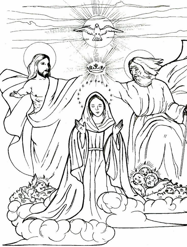 Sundays With The Saints Queenship Of Mary Catholic Fit Moms For Life Catholic Coloring Coloring Pages Bible Coloring Pages